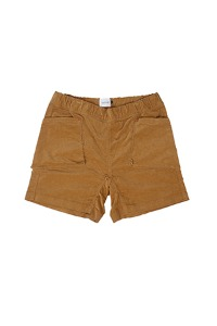 "CAL O LINE - CORDUROY EASY SHORTS ""YELLOW"""