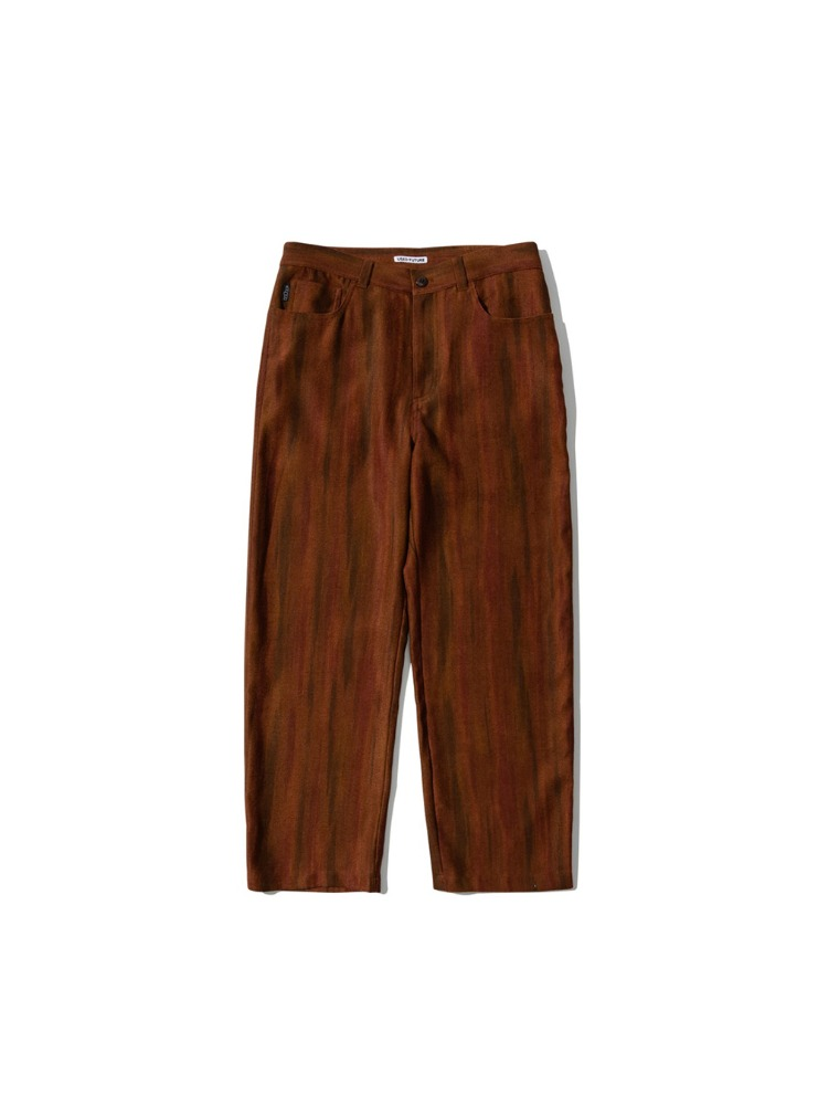 "USED FUTURE - RELAXED PANTS ""BROWN"""