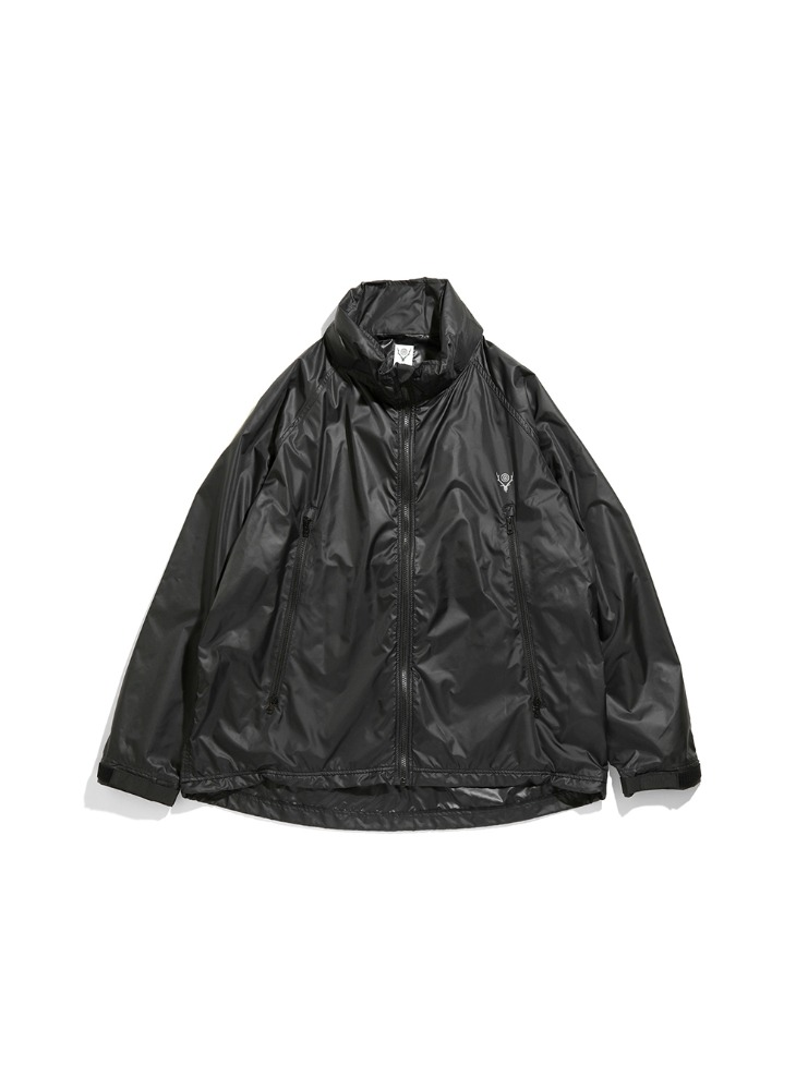 "SOUTH2 WEST8 - Weather Effect Jacket - Poly Taffeta ""BLACK"""