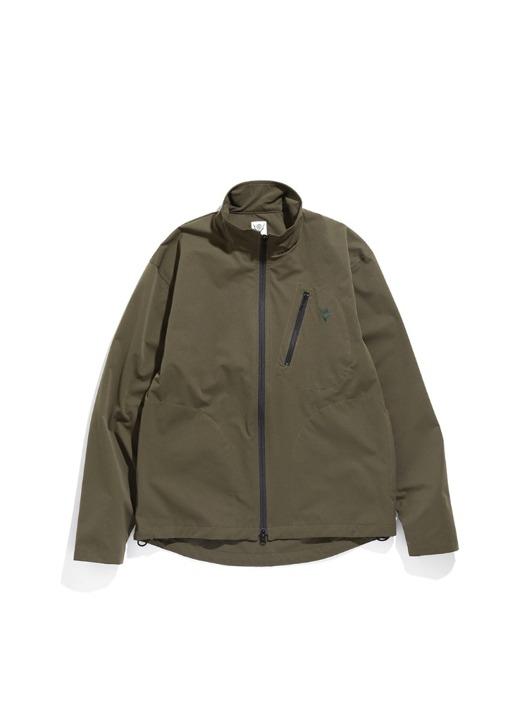"SOUTH2 WEST8 - Boulder Shirt - Poly Stretch Twill ""GREEN"""