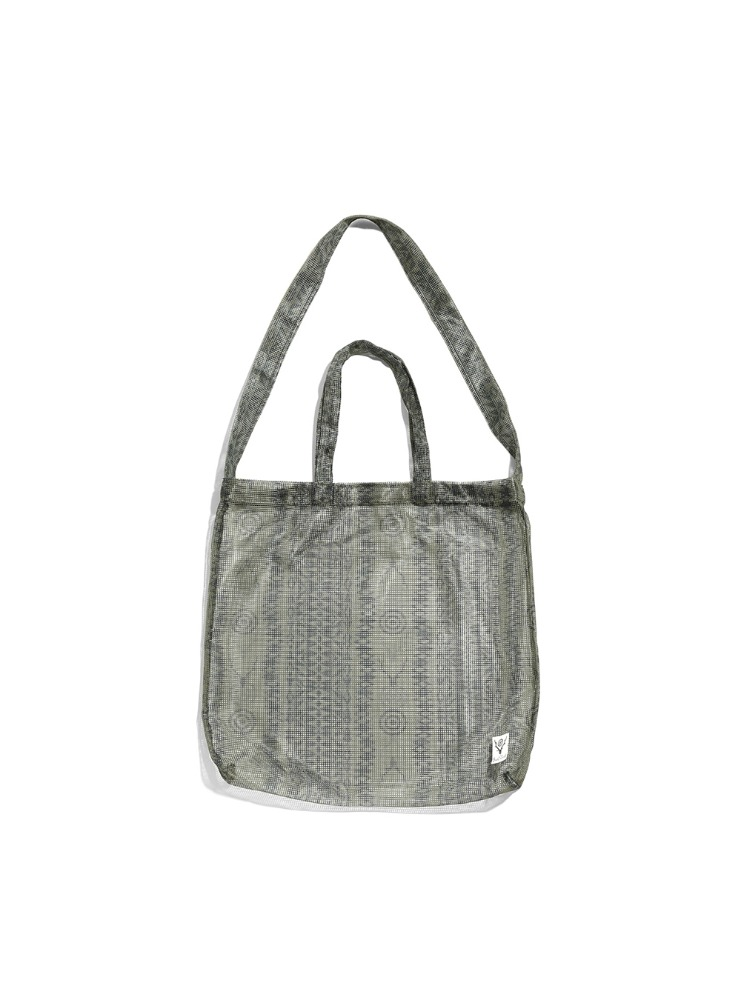 "SOUTH2 WEST8 - Grocery Bag - Heavyweight Mesh ""SKULL&TARGET"""