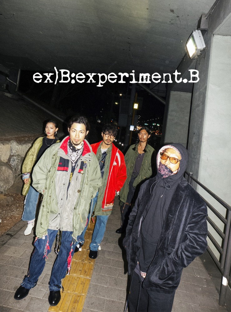 EX)B:EXPERIMENT.B LOOKBOOK PART2